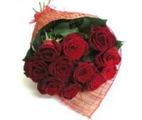 Букет из  голландских красных роз   (от 11 до 101)