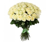 51 голландская белая роза