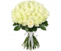 51 белая крымская роза